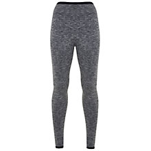 Buy Manuka Seamless Performance Leggings, Black Marl Online at johnlewis.com