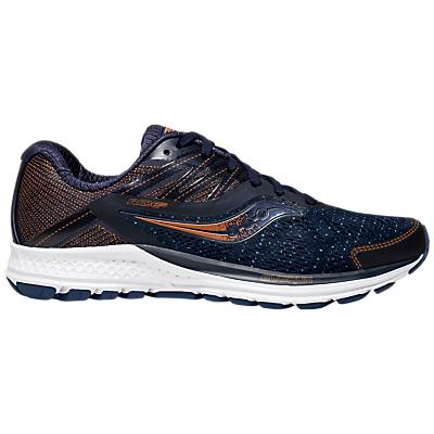 Saucony Ride 10 Women's Running Shoes, Navy/Denim/Copper