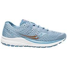 Buy Saucony Jazz 20 Women's Running Shoes, Light Blue/Copper Online at johnlewis.com
