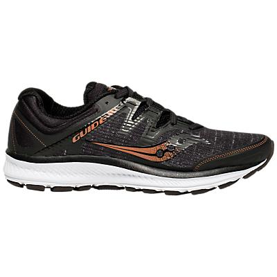 Saucony Guide 10 ISO Women's Running Shoes, Black/Denim/Copper