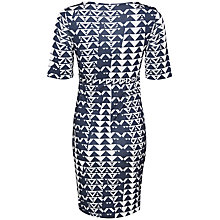 Buy Mamalicious Morocca 1/2 Sleeve Jersey Maternity Dress, Navy Online at johnlewis.com