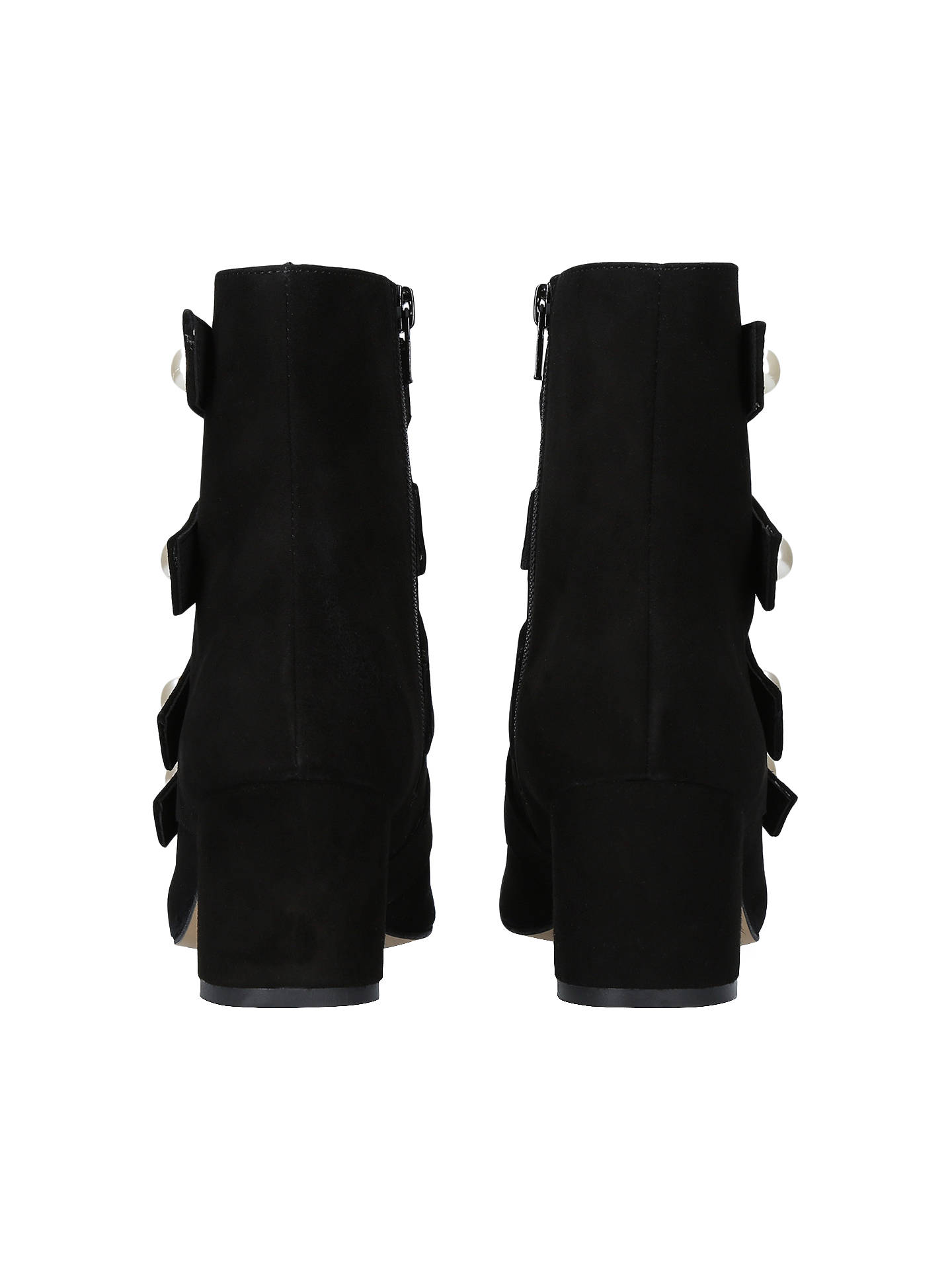 47997773059d ... Buy Carvela Spandau Faux Pearl Block Heeled Ankle Boots