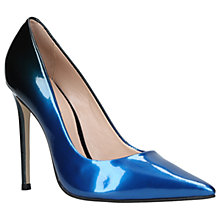 Buy Carvela Alice Stiletto Heeled Court Shoes, Blue Online at johnlewis.com