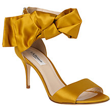 Buy L.K. Bennett Agata Bow Stiletto Heel Sandals Online at johnlewis.com