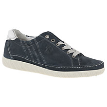 Buy Gabor Amulet Wide Fit Lace Up Trainers Online at johnlewis.com