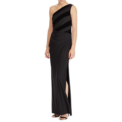 Lauren Ralph Lauren Ethanette Sleeveless Evening Dress, Black