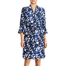 Buy Lauren Ralph Lauren Elvarsha Floral Georgette Dress, Multi Online at johnlewis.com