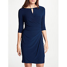 Buy Lauren Ralph Lauren Kelby Dress, Deep Sapphire Online at johnlewis.com