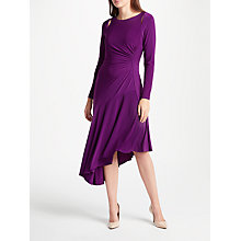 Buy Lauren Ralph Lauren Sotto Dress, Haddon Violet Online at johnlewis.com