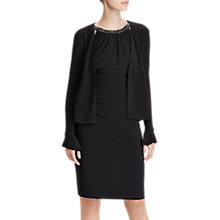 Buy Lauren Ralph Lauren Suvi Cardigan, Black Online at johnlewis.com