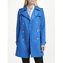 Buy Lauren Ralph Lauren Cotton Blend Trench Coat, Delft Online at johnlewis.com
