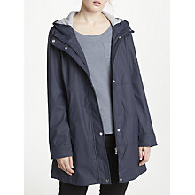 Buy Lauren Ralph Lauren Water Resistant Coat, Navy Online at johnlewis.com