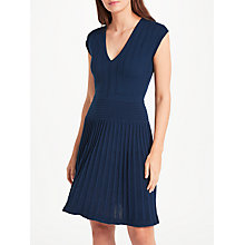 Buy Max Studio Knitted Dress, Sapphire Online at johnlewis.com