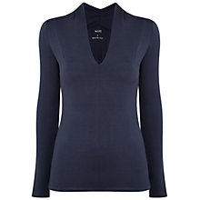 Buy Manuka Solstice Slit Front Long Sleeve Yoga T-Shirt Online at johnlewis.com
