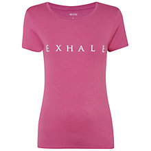 Buy Manuka Short Sleeve Exhale Yoga T-Shirt Online at johnlewis.com