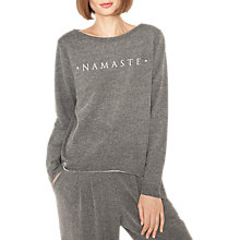 Buy Manuka Exhale Nirvana Sweat Top, Flint Melange Online at johnlewis.com