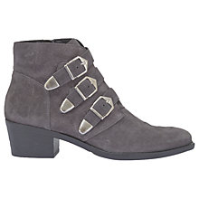 Buy Mint Velvet Lee Triple Buckle Ankle Boots Online at johnlewis.com