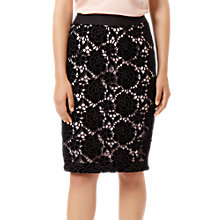 Buy Fenn Wright Manson Carrie Lace Skirt, Black Online at johnlewis.com