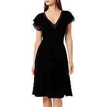 Buy Fenn Wright Manson Simone Velvet Dress, Black Online at johnlewis.com