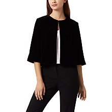 Buy Fenn Wright Manson Simone Velvet Jacket, Black Online at johnlewis.com