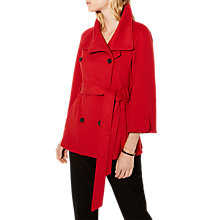 Buy Karen Millen Belted Wrap Cape Coat Online at johnlewis.com