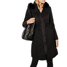Buy Karen Millen Lightweight Padded Coat Online at johnlewis.com