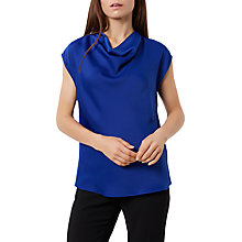 Buy Fenn Wright Manson Jessica Top Petite, Blue Online at johnlewis.com