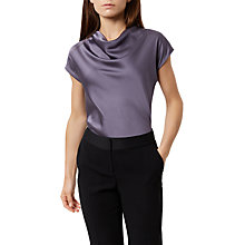 Buy Fenn Wright Manson Petite Julie Top, Silver Online at johnlewis.com