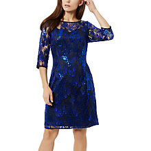 Buy Fenn Wright Manson Corina Dress Petite, Blue Online at johnlewis.com