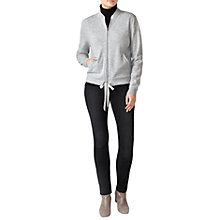 Buy Pure Collection Cashmere Bomber Jacket Online at johnlewis.com