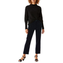 Buy Jigsaw Velvet Cigarette Trousers Online at johnlewis.com