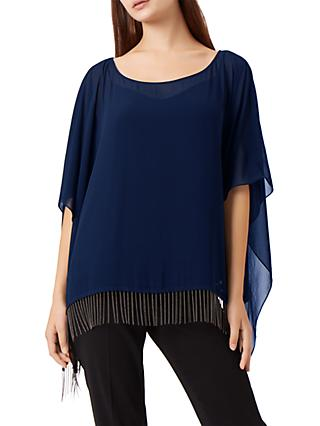 Fenn Wright Manson Meanca Poncho, Navy