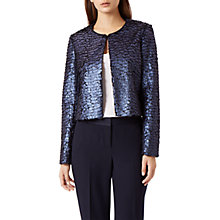 Buy Fenn Wright Manson Imogen Jacket, Navy Online at johnlewis.com