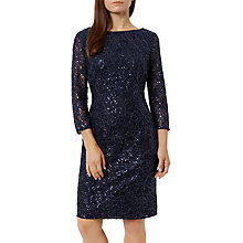 Buy Fenn Wright Manson Petite Elaoise Dress, Navy Online at johnlewis.com