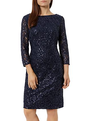 Fenn Wright Manson Petite Elaoise Dress, Navy