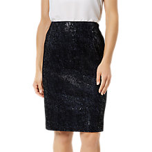Buy Fenn Wright Manson Petite Roma Skirt, Navy Online at johnlewis.com