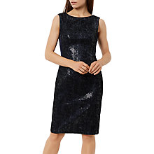 Buy Fenn Wright Manson Petite Roma Sequin Dress, Navy Online at johnlewis.com