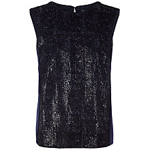 Buy Fenn Wright Manson Petite Roma Top, Navy Online at johnlewis.com