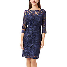 Buy Fenn Wright Manson Yasmin Lace Dress, Navy Online at johnlewis.com