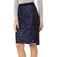 Buy Fenn Wright Manson Zara Sequin Skirt, Navy Online at johnlewis.com