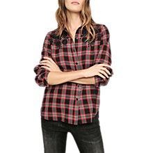 Buy Gerard Darel Brooklyn Shirt, Red/Multi Online at johnlewis.com
