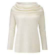 Buy Pure Collection Cashmere Wide Bardot Jumper Online at johnlewis.com