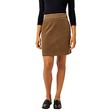 Buy Warehouse Cord Pelmet Skirt, Tan Online at johnlewis.com