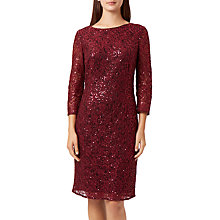 Buy Fenn Wright Manson Elaoise Dress, Wine Online at johnlewis.com
