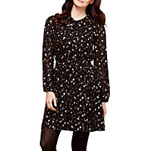 Buy Yumi Foil Print Dress, Black Online at johnlewis.com