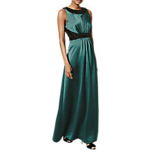 Buy Phase Eight Collection 8 Fiana Embellished Dress, Emerald Online at johnlewis.com