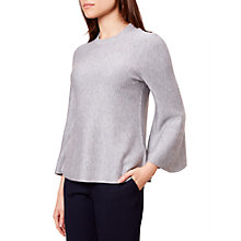 Buy Hobbs Roisina Jumper, Grey Online at johnlewis.com
