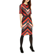 Buy Phase Eight Beverly Brush Stroke Stripe Dress, Multi Online at johnlewis.com