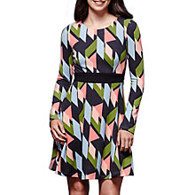 Buy Yumi Geometric Print Dress, Multi Online at johnlewis.com