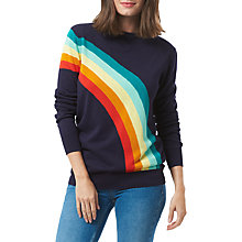 Buy Sugarhill Boutique Rita Vintage Rainbow Sweater, Navy/Multi Online at johnlewis.com